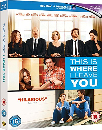 This Is Where I Leave You [Blu-ray] [2015] [Region Free]