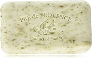 Pre' De Provence Artisanal French Soap Bar Enriched With Shea Butter, Mint Leaf, 150 Gram