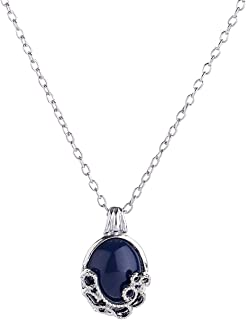 LUREME The Vampire Diaries Daywalking Katherine Necklace Pendant Charm Necklace-Royal Blue (01003590)