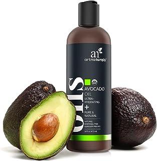ArtNaturals USDA Organic Avocado Oil - (16 Fl Oz / 473ml) - Massage Oil & Moisturizer – 100% Pure Expeller Pressed and Hex...