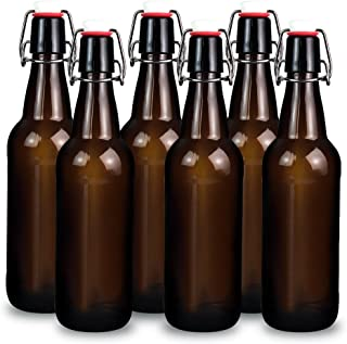 Best brown glass bottles with stoppers Reviews