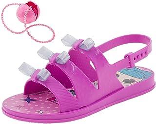 62561ea35 Sandália Infantil Feminina Lol Bag Grendene Kids - 21836 Lilás
