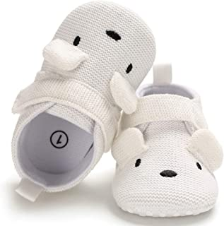 Sawimlgy Infant Baby Boys Girls Cute Slippers Cozy Booties Moccasins Gift Shoes