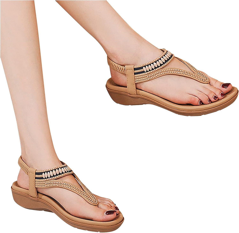 Masbird Sandals for Women Fashion Flat Com Casual sale Ranking TOP8 Summer