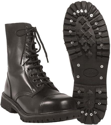 Mil-TEC Invader Stiefel 10-hole schwarz schwarz Größe 44