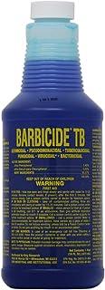 BARBICIDE TB Salon Disinfectant Anti Rust Formula Tool Sterilizer Cleaner