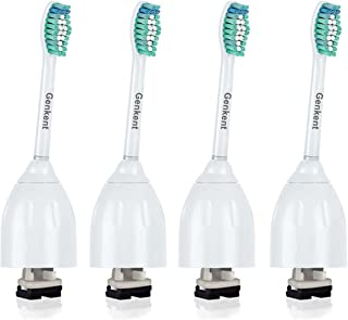 Genkent Philips Sonicare e-Series HX7022用Genkentプレミアム標準サイズ交換用歯ブラシヘッド Sonicare Advance、CleanCare、Elite、Essence、Xtreme Philips Brush Handles (4 Count)