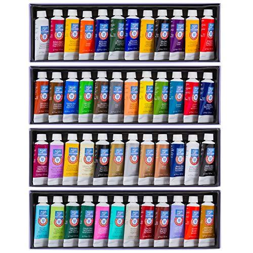Acrylic Paint Tube Set by Artist's Loft, 48 Count