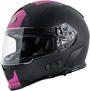 Best pink motorcycle helmet with bluetooth Reviews