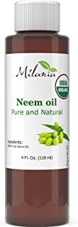 Premium Organic Neem Oil Virgin, Cold Pressed, Unrefined 100% Pure Natural Grade A. Excellent Quality. Same...