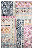 Poly and Bark Tangier Distressed 8'x10' Area Rug, 8' x 10', Multicolor