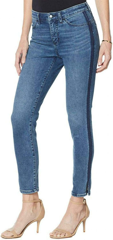 G by Giuliana G-Sculpt Women's Tall Side Stripe Ankle Jeans. 693797-Tall