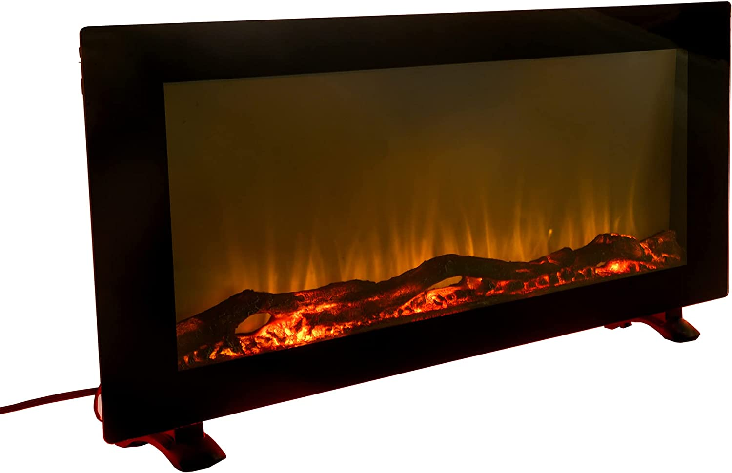 AOBOLAN Design The Sale Special Price Sideline Electric Fireplace Inch Tampa Mall 42 - Wide
