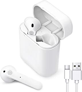 Auriculares Inalámbricos Bluetooth 5.0, Auriculares Bluetooth Deportivos IPX5 Impermeable, In-Ear Cascos Bluetooth Inalámb...