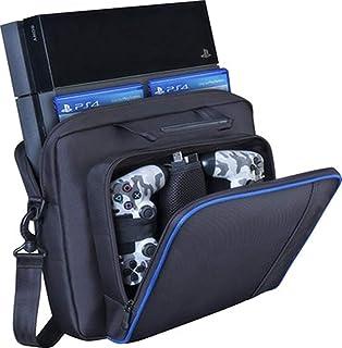 ASNOMY Custodia per PS4, Custodia da Trasporto Playstation, nuova custodia da viaggio, borsa per tracolla protettiva PlayS...