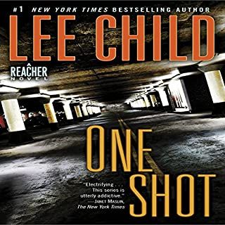 Jack Reacher: One Shot cover art