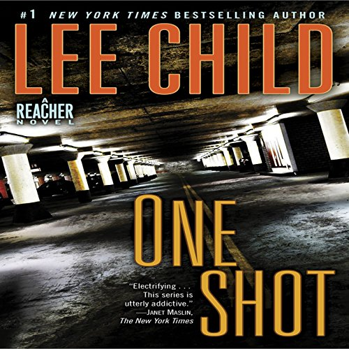 Jack Reacher: One Shot audiobook cover art