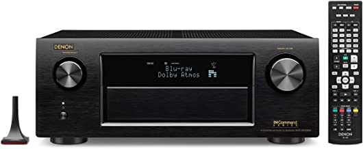 Denon AVR-X4100W 7.2 Network AV Receiver with Wi-Fi, Bluetooth and Dolby Atmos