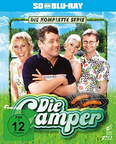 Die Camper - Die komplette Serie  (SD on Blu-ray)