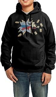 LULU Underdog Men's Cool Long Sleeve Hoodies Black