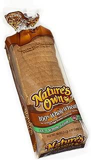 Nature's Own, 100% Whole Wheat Bread, 20 oz