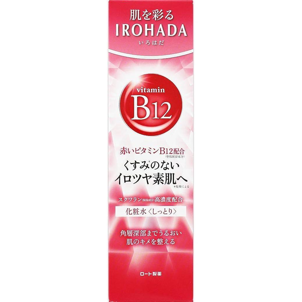 脱走悪性機関車ロート製薬 いろはだ (IROHADA) 赤いビタミンB12×スクワラン配合 化粧水しっとり 160ml