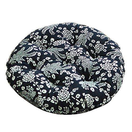 Coussins pour Le Tapis de Yoga Circulaire pour Le Coussin de Chaise de Tapis de Plancher Favorable à l'environnement et Insipide Durable Machine Lavable