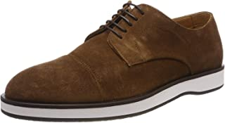 Oracle Derb dct Men's Casual Shoes Lace up Suede with Monogram Flat Sole