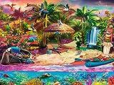 Buffalo Games - Tropical Island Holiday - 1500 Piece Jigsaw Puzzle