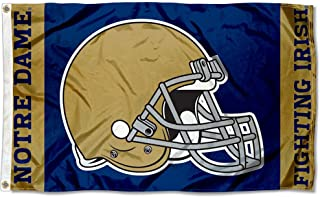College Flags and Banners Co. Notre Dame Fighting Irish Football Helmet Flag