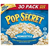 Pop Secret Popcorn, Homestyle, 30 Count