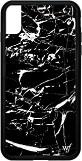 Wildflower Limited Edition iPhone Case for iPhone Xs Max (Black Marble)