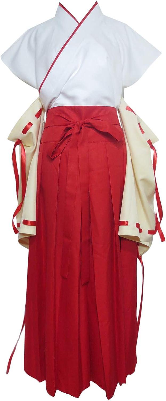 half Higurashi no Free shipping / New Naku Koro ni Furude Kimono Outfit Cospl Deity Hanyu