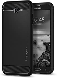 Spigen Rugged Armor Designed for Samsung Galaxy J7 Case / J7 Prime Case / J7 Sky Pro Case / J7 Perx Case (2017) - Black