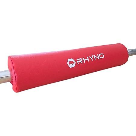 スクワットパッド バーベル シャフト パット 高級 PUレザー/肩 首 をサポート 保護/色選択可【RHYNO ライノ】