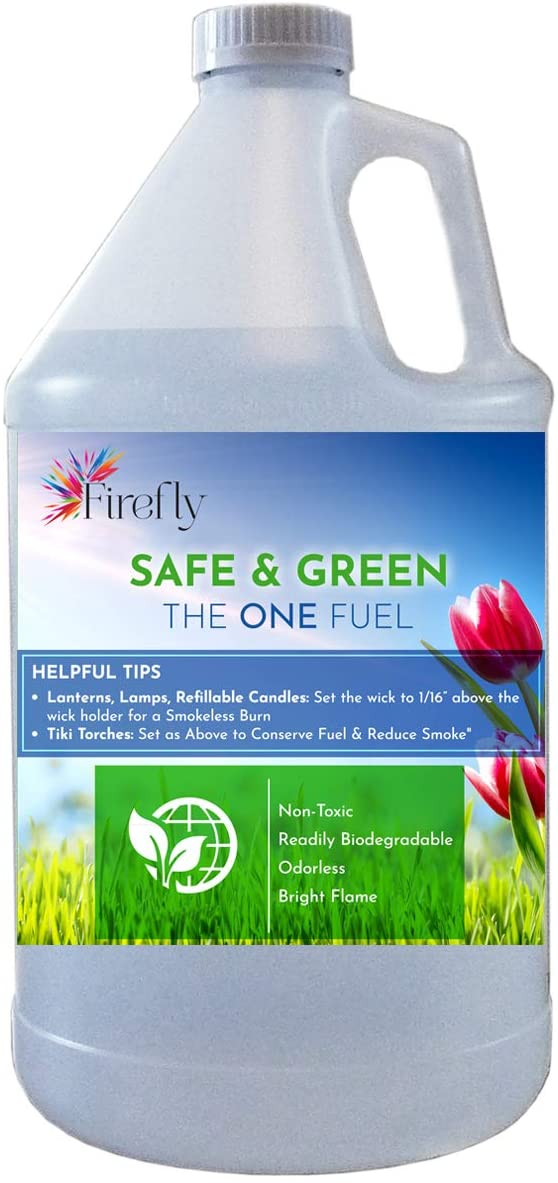 Firefly Kosher Eco-Friendly Safe Dallas Mall and Green No Torch Fuel Tiki - Excellent