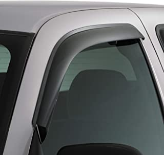 Auto Ventshade 92971 Original Ventvisor Side Window Deflector Dark Smoke, 2-Piece Set for 2015-2018 Ford F-150, 2017-2018 Raptor & F-250 to F-450 Super Duty with Standard Cab