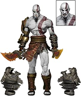 VinWin God of War 3 Ultimate Kratos Action Figure Ghost of Sparta PVC Collectible Figure Model Toy Best Gift, 7""