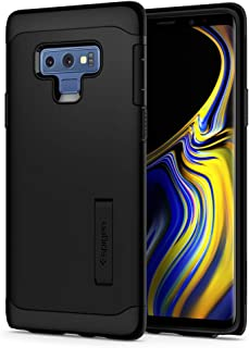 Spigen Slim Armor Galaxy Note 9 Case with Kickstand and Air Cushion Technology for Galaxy Note 9 (2018) - Black