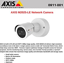 Axis Communications B092830 AXIS M2025-LE Network Camera