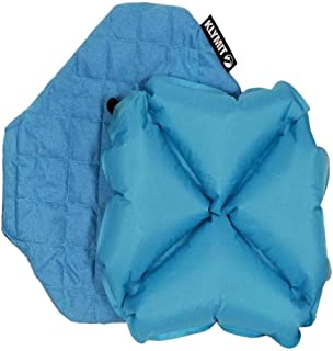 Klymit Quilted Inflatable Camping Pillow with Washable Cover, Teal