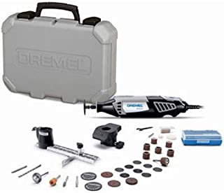 Best Dremel 4000-2/30 High Performance Rotary Tool Kit- 2 Attachments & 30 Accessories- Grinder, Sander, Polisher, Router, and Engraver- Perfect for Routing, Metal Cutting, Wood Carving, and Polishing, Black, Full Size Review