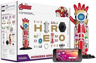 littleBits Marvel Avengers Hero Inventor Kit - Build Super Hero Gear & Code Your Own Super Powers - Kids Ages 8+