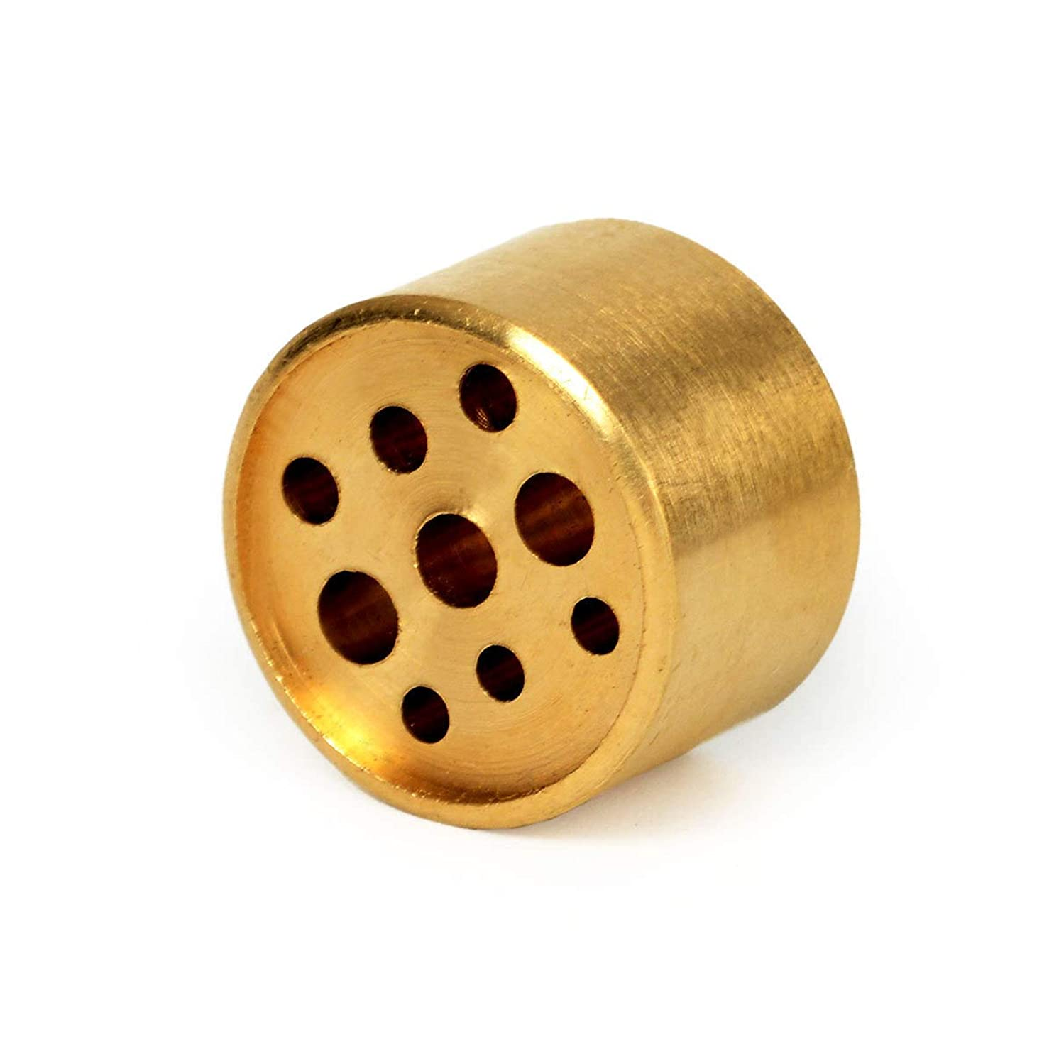 メキシコパテ試用AFZSHG 純銅 9穴 小さなお香スティックホルダー 色あせなし 1.2オンス (34g)