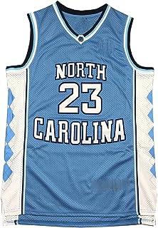 Uniforme de Baloncesto Universitario, North Carolina 23# réplica Jersey Jersey clásico Jersey Retro, Jersey de Baloncesto Jersey para niños, Juego de Bordado Artesanal de hasta 6.56 pies