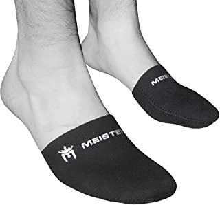 Meister 2.5mm Thermal Neoprene Toe Warmer Booties for Cycling, Running, Hiking & Ice Baths (Pair) - Black