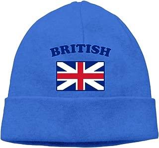 GDSG5&4 British Flag Unisex Great Thermal Surf Beanie Hat
