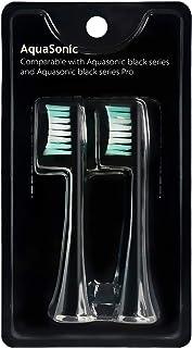 AquaSonic Black Series Replacement Brush Heads 2-Pack - برس برقی جایگزین سر برس