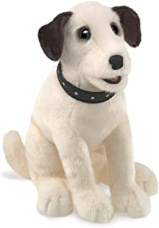 Folkmanis 3132 Sitting Terrier Hand Puppet, One Size, Multicolor