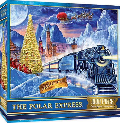 MasterPieces Holiday 1000 Puzzles Collection - The Polar Express 1000 Piece Jigsaw Puzzle